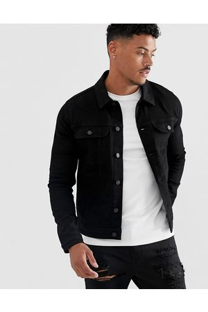 ASOS Men Denim Jackets - Skinny western denim jacket in