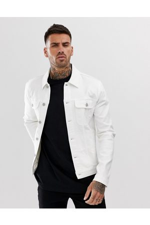ASOS Skinny western denim jacket in
