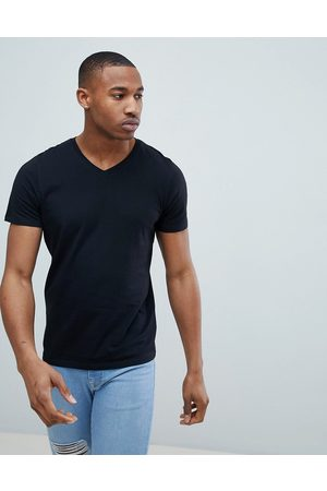 Jack & Jones Essentials slim fit v-neck t-shirt in