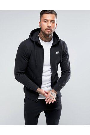 Nike Men Hoodies - Club zip-up hoodie in BV2645-010