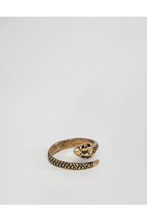ASOS Ring with wrap around snake in burnished tone