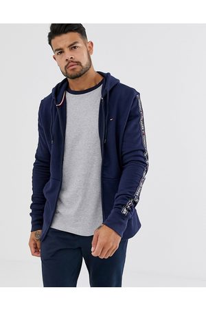 Tommy Hilfiger Authentic full zip lounge hoodie with side logo taping in