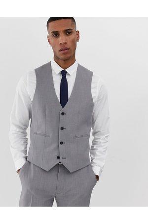 ASOS Super skinny suit waistcoat in mid