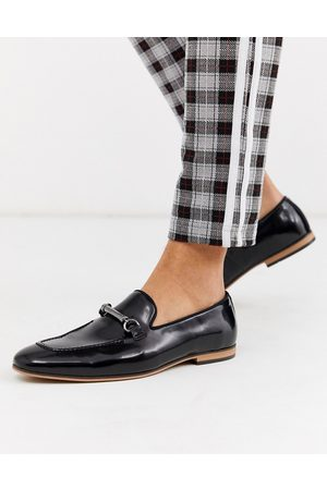 ASOS Loafers in faux leather with snaffle
