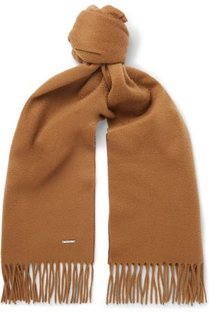 Loro Piana Men Scarves - Fringed Cashmere Scarf