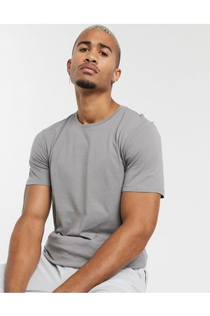 Only & Sons Longline curved hem t-shirt in