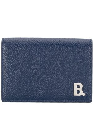 Balenciaga Mini B leather wallet