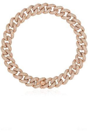Shay 18kt pavé diamond 8 inch link bracelet