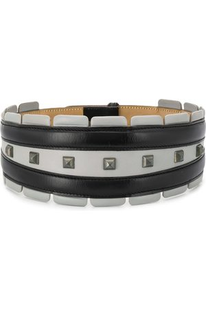 Alaïa Women Belts - 1990s studded wide belt