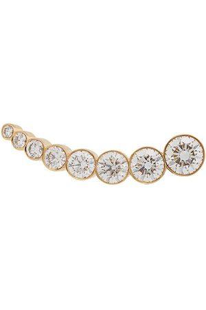 SOPHIE BILLE BRAHE 18kt yellow croissant claire diamond earring