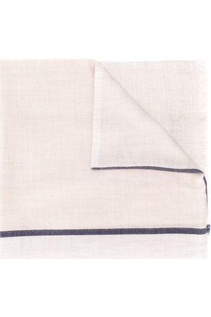 Brunello Cucinelli Contrasting stripe scarf