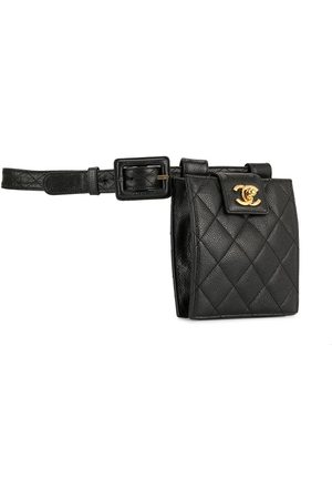 CHANEL 1992 diamond quilted belt bag