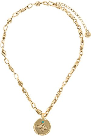 Goossens Talisman Taurus medal necklace
