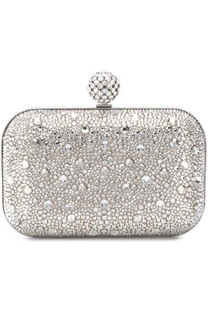 Jimmy choo Cloud crystal-embellished clutch