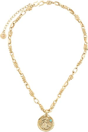 Goossens Talisman Virgo medal necklace