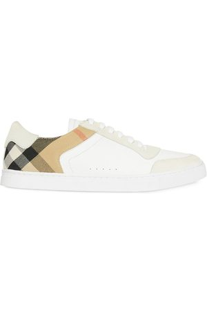 Burberry House Check panel sneakers