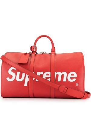 LOUIS VUITTON X Supreme Keepall Bandouliere 45 travel bag