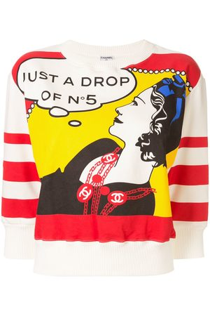 CHANEL Coco Chanel print sweatshirt