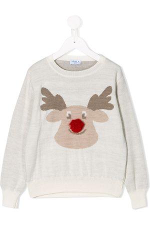 SIOLA Reindeer knit jumper