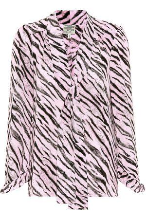 Baum und Pferdgarten Exclusive to Mytheresa – Malia tiger-printed blouse