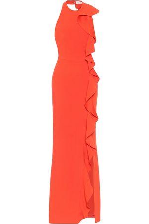 Rebecca Vallance Galerie crêpe gown