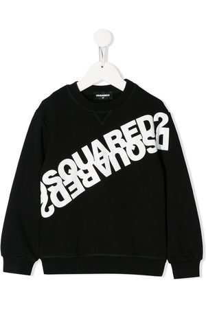 Dsquared2 Mirrored logo cotton sweatshirt