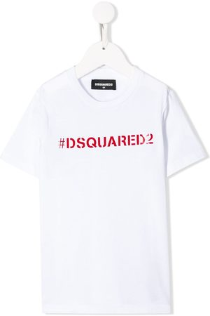 Dsquared2 Hashtag logo cotton T-shirt