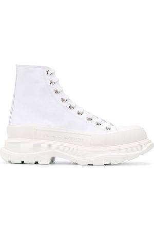 Alexander McQueen Tread Sleek high-top sneakers