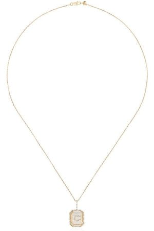 Mateo 14kt C initial necklace