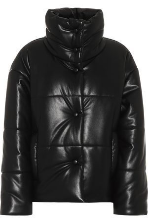 Nanushka Hide faux-leather puffer jacket