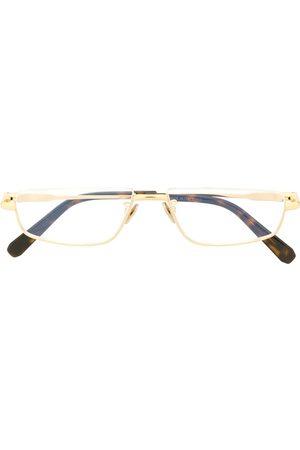 BRIONI Curved rectangular-frame glasses