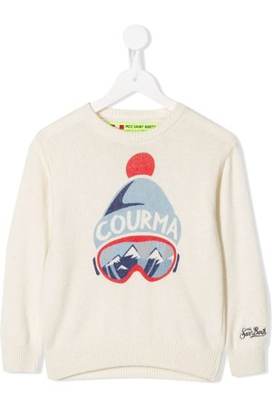 MC2 SAINT BARTH Graphic print jumper