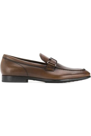 Tod's T logo leather loafers