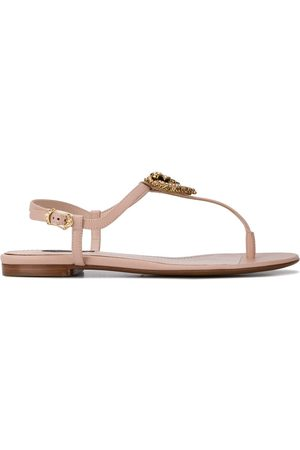 Dolce & Gabbana Devotion T-strap sandals