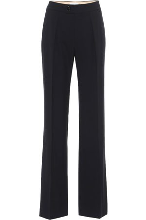 Chloé Stretch-wool straight pants