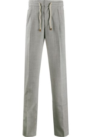 Brunello Cucinelli High-rise slim trousers