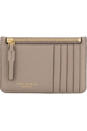 Tory Burch Perry cracked-effect cardholder