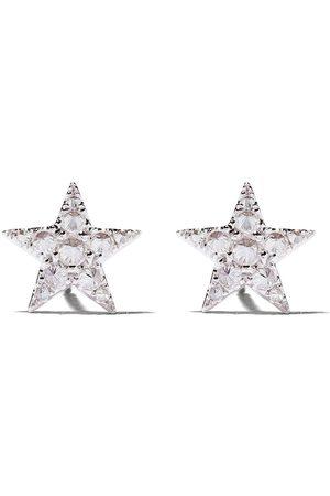 ANNOUSHKA Women Earrings - 18kt white gold Love Diamonds star studs