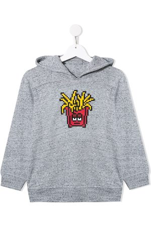 MOSTLY HEARD RARELY SEEN Fries print cotton hoodie