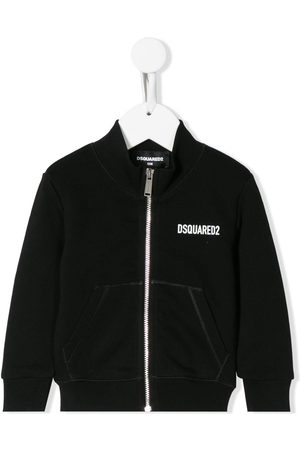Dsquared2 Icon print zipped sweatshirt