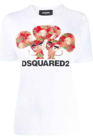 Dsquared2 Printed detail T-shirt