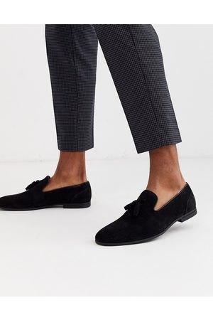 ASOS Tassel loafers in faux suede