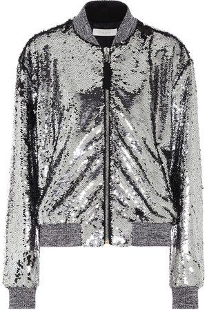 Golden Goose Women Bomber Jackets - Sequined bomber jacket