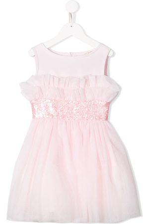 MONNALISA Sequined waist dress