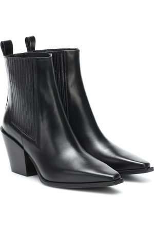 aeydé Kate leather ankle boots