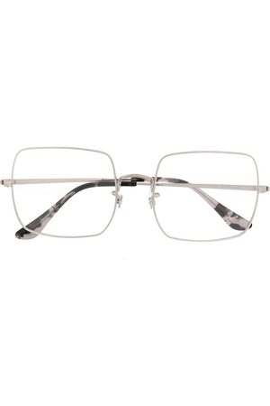 Ray-Ban Oversized square frame glasses