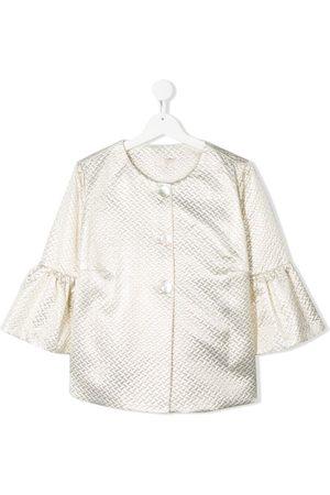 MONNALISA TEEN textured jacket