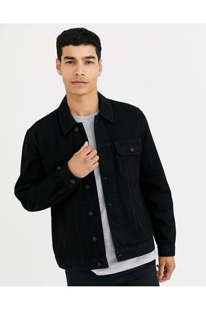 ASOS Regular western denim jacket in