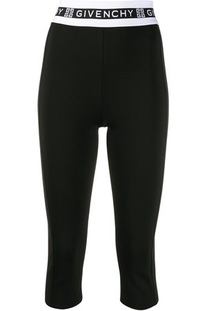 Givenchy Logo waistband leggings
