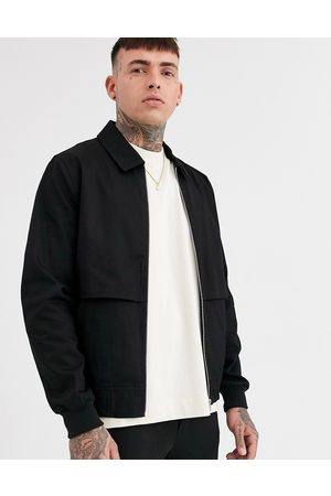 ASOS Men Sets - Co-ord harrington jacket with storm vent in